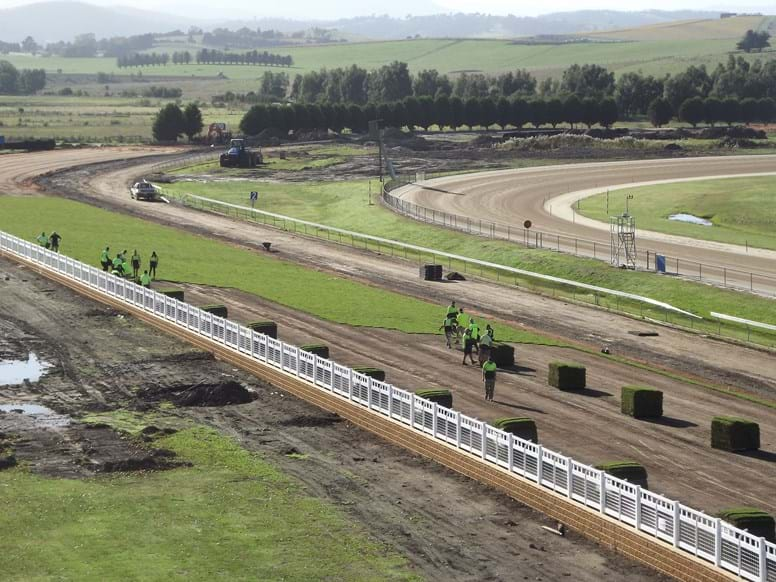 Yarra Valley Race track turf