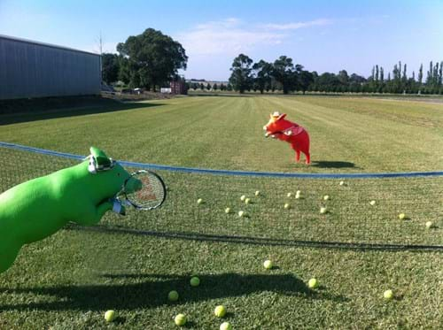 instant lawn tennis